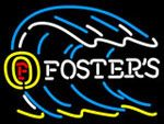 Fosters Tidal Wave Neon Beer Sign, Fosters Neon Beer Signs & Lights | Neon Beer Signs & Lights. Makes a great gift. High impact, eye catching, real glass tube neon sign. In stock. Ships in 5 days or less. Brand New Indoor Neon Sign. Neon Tube thickness is 9MM. All Neon Signs have 1 year warranty and 0% breakage guarantee.