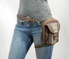 Retroactive Canvas Holster Pack- Thigh Holster, Protected Purse, Shoulder Holster, Handbag, Backpack, Purse, Messenger Bag, Fanny Pack