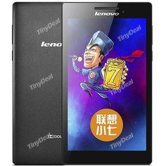 "Lenovo A7-10 7\"" HD Screen Android 4.4 MTK8127 Quad-core 1GB 8GB Tablet PC w/ GPS Bluetooth OTG ETC-390090 Android 4, Quad, Bluetooth, Core, Quad Bike"