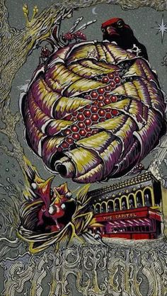 """Further Capital Theatre by David Welker and AJ Masthay.  AP Edition of 100.  16x24"""" ! copy left as of right now"""