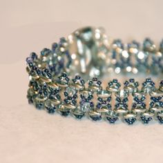 MEX JEWELLERY - TOHO Beads, Twins, Bracelet, Beadweaving, Beadwork
