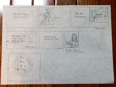 Rough Storyboard for Project 4 - 2