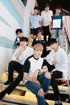 8 boys from Boys24 for 엑스포즈뉴스 #Boys24 #Inho #Doha #Youngdoo #Louoon #Jinseok #Inpyo #Yonghyun #Hwayoung