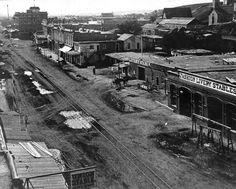 Main Street, Circa 1875. Los Angeles