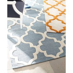 Geo Medallion Rug ($699) ❤ liked on Polyvore featuring home, rugs, flat woven rug, flat weave rug, wool area rugs, flatwoven rug and flatweave rugs