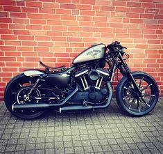 Motorcycles, bikers and more #harleydavidsonbobbersportster