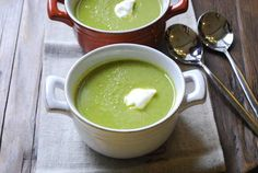 Pea Soup---three and a half stars---easy to make; good cold or hot.