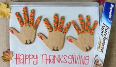 Make your own turkey-shaped sugar cookies for the whole family this Thanksgiving! Kids will love to decorate them and everyone will love to eat them. Get instructions here: http://www.reynoldskitchens.com/kitchen-tips/tip-technique-items/happy-thanksgiving-turkey-sugar-cookies/