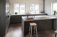 Showroom for in Oslo Oslo, Interior Design Inspiration, Showroom, Kitchen, Table, Projects, Furniture, Home Decor, Kitchens