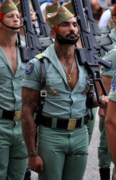 Just The Spanish Army…