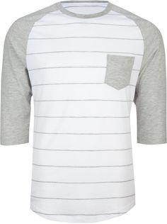 RETROFIT Stripe Raglan Mens Baseball Tee 201601210   Pocket Tees   Tillys.com