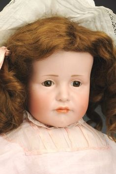 Impressive K & R 114 Character doll. September 21, Madame Alexander, French Fashion, Antique Dolls, Auction, Antiques, Toys, Character, Collection