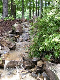 Garden And Backyard Waterfalls Ideas 23