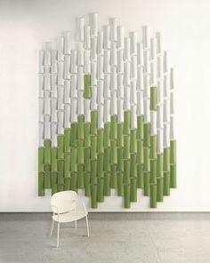 Akustikplatte für Innenwand / für berufliche Nutzung BAMBOO by Stone Designs Made Design Barcelona