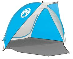 Coleman 2000014807 Day Trip Beach Shade Shelter, Blue