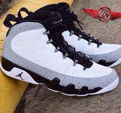 best loved 4e702 c51fd Air Jordan Retro 9 Cement Barons Customs