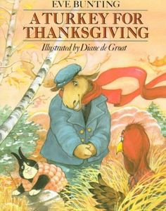 Mr. and Mrs. Moose invite all their animal friends for Thanksgiving dinner and the only one missing is Turkey. When they set out to find him, Turkey is quaking with fear because he doesn't realize tha