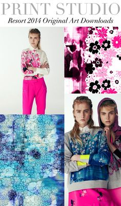 Trend Council Updates 2015 Fashion Trends, Fashion Themes, 2014 Trends, Fashion Tips, Fashion Collage, Fashion Prints, Color Combinations For Clothes, Trend Council, Female Images