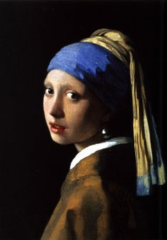 The Girl with the Pearl Earring by Johannes Vermeer c1665