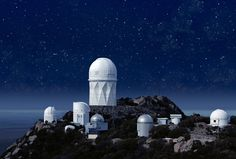 Kitt Peak Observatory in Arizona - Amazing Observatories Around the World Perfect for Stargazing : Condé Nast Traveler Oh The Places You'll Go, Great Places, Places To Visit, Astronomical Observatory, Mackinaw City, Space And Astronomy, Dark Skies, Stargazing, Day Trips
