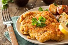 While veal is the traditional choice for authentic German Wiener Schnitzel, chicken or pork is an easy and delicious substitution. And this pan-seared schnitzel is a lightened up version of the favorite fried cutlets, yet is just as tender and yummy as its counterpart. This quintessentialGerman dish actually finds its roots in Austria – Vienna...