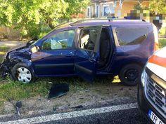 TELEORMAN Accident violent între două autoturisme pe raza localității Lisa!