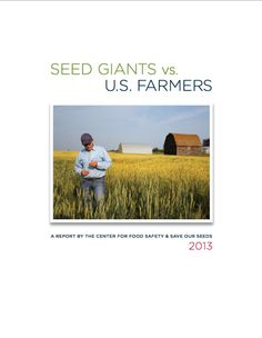 MUST Watch - Monsanto bullies small farmers over GMO pollutants & contamination - destroying seed diversification & reducing crop yields, & Congress & the US Courts protect the Goliath, Monsanto. Watch David Vs Monsanto (seem Comments for link). Environmental Research, True Food, University Of Arizona, Food Safety, Nutrition Information, Food Industry, Alternative Health, Lose Belly Fat, That Way