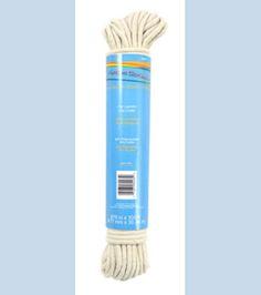 For drawstring bags  Dritz 100Ft Polypropylene Reinforced Cotton Clothesline