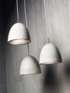 Inspire your space with the Concrete Pendant Light - award winning Australian lighting design that is crafted from actual hand caste concrete. Industrial Pendant Lights, Pendant Lamp, Pendant Lighting, Ceiling Pendant, Modern Industrial, Pendant Necklace, Modern Lighting, Lighting Design, Interior Lighting