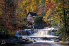 Glade Creek Grist Mill in West Virginia. Photo by Frank Kehren.