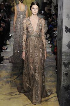 Vestido de boda. Valentino Couture Spring 2014 -