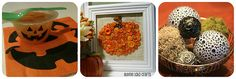 Love the button/burlap pumpkin