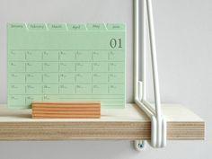Index Card Calendar