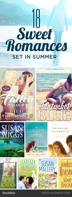 Check out these 18 sweet romance books set in summer.