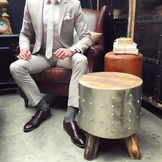 Distinguished Gentleman  Canalside Interiors recently had the opportunity to collaborate with fashion aficionado @thedistinguishedgentleman_ and to welcome him into the fold. Exciting things in the works!! Stay Tuned!  Follow him if you're into keeping up to date with the latest trends in men's fashion!  Pictured here: with Canalside Interiors' Cambridge Aged Leather Armchair and Bullet Side Table / Stool. In stock now.  OPEN 7 DAYS | 38 Burrows Rd Alexandria  www.canalside.com.au…