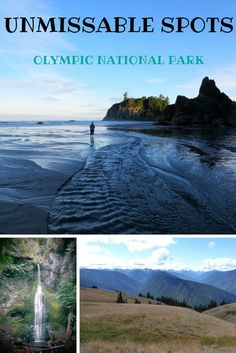 If you can't see all of it, these Olympic National Park things to do are the best to start with.  Plan a few Olympic National Park hikes and make the most of your trip to Washington.  Try the mountains in Hurricane Ridge, Elwha Canyon dry forest, Hoh rainforest, and Ruby Beach near Forks Washington.  Enjoy these hikes, wildlife, hot springs, and more.
