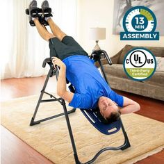 Active Fitness Yoga Assisted Inverted Chair Home Gym Chair Handstand Stool With Soft Mat Velcro Integrated Fitness Equipments Fitness Equipments
