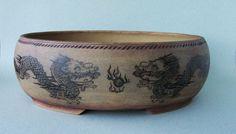 Drachenschalen – Dragon pots - bonsaikeramik peter krebs