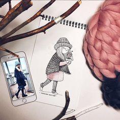 #art #artwork #artist #illustration #illustrate #picture #portrait #portraitillustration #portraitforoder #girls #girl #phone #iphone #style #work #drawme #drawing #inspiration #moodboard #иллюстрация #иллюстратор #портрет #заказатьпортрет #девочка #длядевочек #идеидляподарка