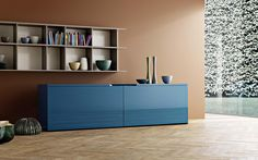 San Giacomo Sideboard Groove Made in Italy. Products available through Selene. www.selenefurniture.com