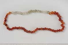 Viking era beads of carnelian and rock crystal Amber Beads, Viking Age, Viking Jewelry, Anglo Saxon, Dark Ages, Carnelian, Beaded Embroidery, Archaeology, Celtic