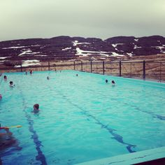 Jump in!  One of many pools in Iceland #natural #hotspring #iceland #nature #icelandtravel