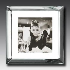 """A great poster of Audrey Hepburn as """"Holly Golightly"""" from the classic romantic comedy movie Breakfast at Tiffany's! Check out the rest of our fantastic selection of Audrey Hepburn posters! Need Poster Mounts. Audrey Hepburn Poster, Audrey Hepburn Arte, Audrey Hepburn Movies, Audrey Hepburn Breakfast At Tiffanys, Audrey Hepburn Quotes, Breakfast With Tiffany, Blake Edwards, Hollywood Icons, Old Hollywood"""