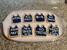 Cross Country State Meet Cookies