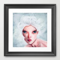 reverie Framed Art Print by Fabian Rodriguez - $34.00