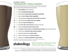Shakeology Benefits Survey - thousands of Shakeology drinkers share their results!   http://www.shakeology.com/fierceyou