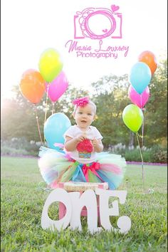 love this tutu and colors for the party