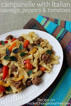 Campanelle with Ital