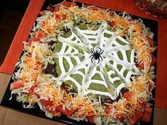 Halloween 7-Layer Dip