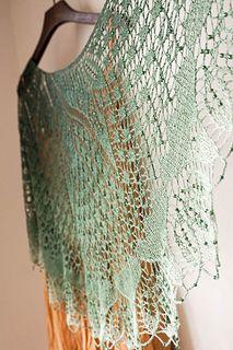 Dancing Butterflies by Carfield Ma - FREE PATTERN - Stunning small lace shawl pattern on Ravelry